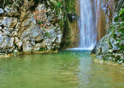 Cascada barranco Megatín