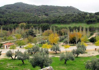 Cerro Miguelico y área recreativa de Santa Ana