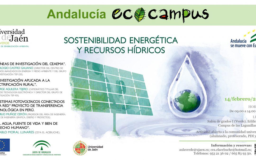 SOSTENIBILIDAD ENERGÉTICA Y RECURSOS HÍDRICOS
